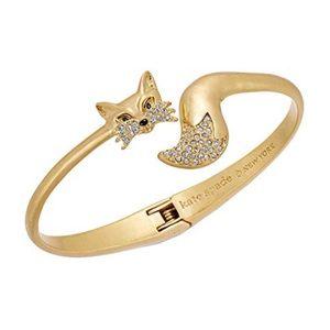 KATE SPADE • So Foxy Open Hinge Cuff Bracelet